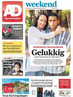 AD Algemeen Dagblad Zaterdagabonnement aanbiedingen voor een abonnement of proefabonnement