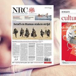 NRC wordt 1 krant. In de middag. In de avond. En online.