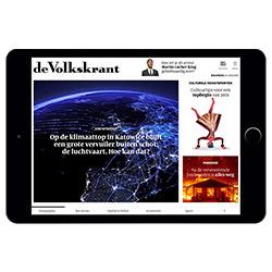 De Volkskrant biedt meer op de tablet