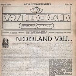 Vrij Nederland maakt haar archief digitaal beschikbaar