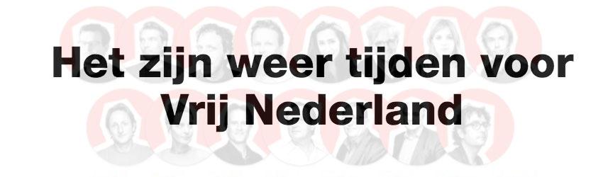 Vrij Nederland is nu een maandblad.