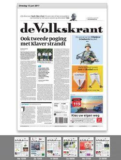 De Volkskrant Digitaal aanbiedingen voor een abonnement of proefabonnement