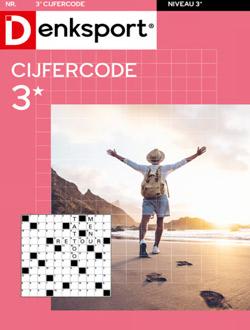 Denksport Cijfercode 3 sterren aanbiedingen voor een abonnement of proefabonnement