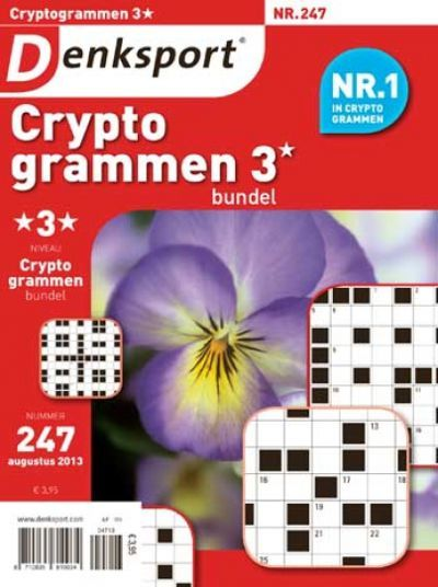 Denksport Cryptogrammen Bundel 3* aanbiedingen