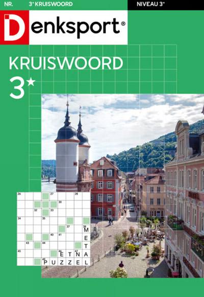 Denksport Kruiswoord 3 sterren aanbiedingen