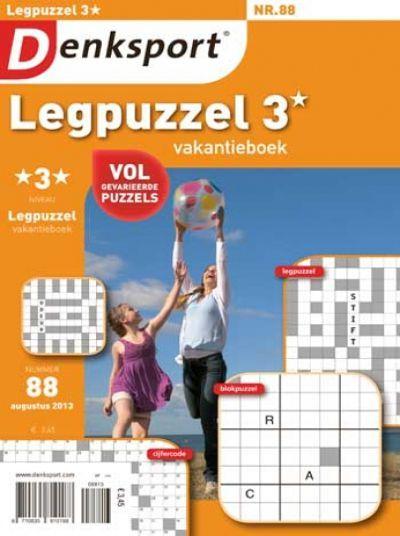 Denksport Legpuzzel vakantieboek 3 sterren aanbiedingen