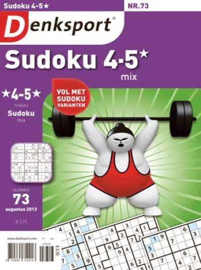 Denksport Sudoku mix 4-5 sterren aanbiedingen