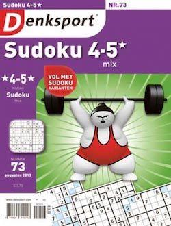 Denksport Sudoku mix 4-5 sterren aanbiedingen voor een abonnement of proefabonnement