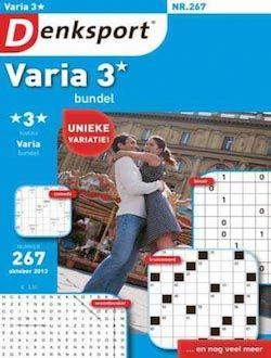 Denksport Varia bundel 3 sterren aanbiedingen voor een abonnement of proefabonnement