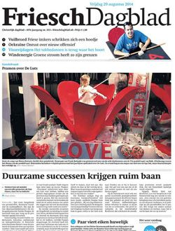 Friesch Dagblad aanbiedingen voor een abonnement of proefabonnement