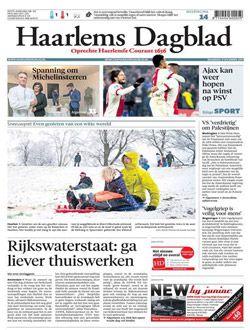 Haarlems Dagblad Digitaal aanbiedingen voor een abonnement of proefabonnement
