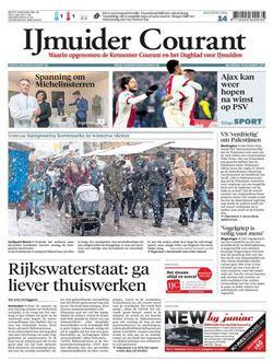 IJmuider Courant aanbiedingen voor een abonnement of proefabonnement