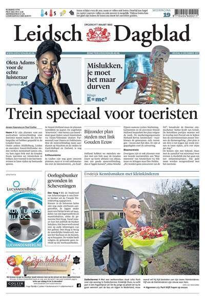 Leidsch Dagblad Zaterdag aanbiedingen