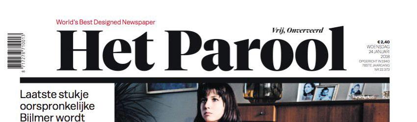 De Limburger Europese Krant van het Jaar 2017