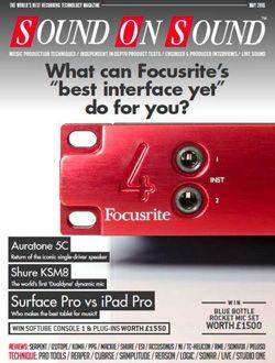Sound on sound magazine  aanbiedingen voor een abonnement of proefabonnement
