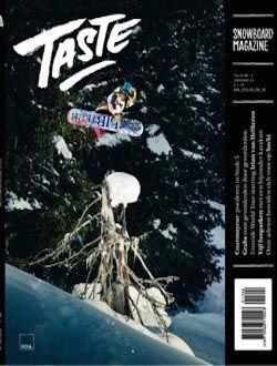 Taste Snowboard Magazine  aanbiedingen voor een abonnement of proefabonnement