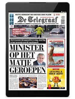 De Telegraaf Digitaal aanbiedingen voor een abonnement of proefabonnement