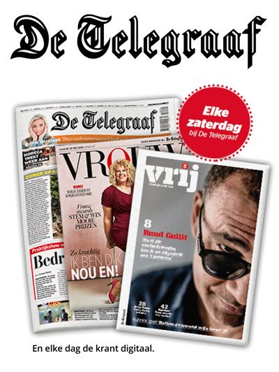 De Telegraaf Weekend en Digitaal aanbiedingen