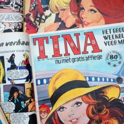 Tina viert haar 50ste verjaardag. Gefeliciteerd!