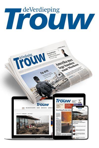 Afbeeldingsresultaat voor trouw dagblad nederland cover